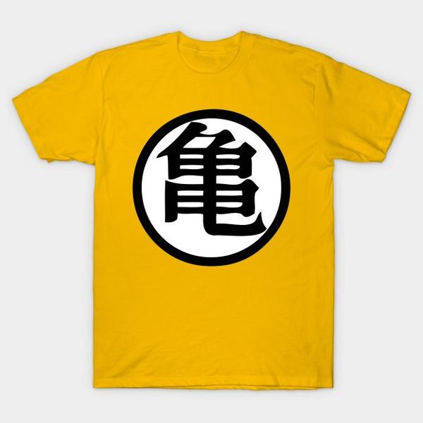 Wish Dragon Ball Z Master Roshi Kanji T Shirt T Shirt For Men