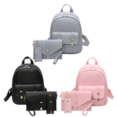 Shoulder Bags, School, Tote Bag, leather