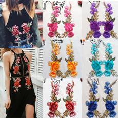 Flowers, flowerapplique, Fashion, Rose