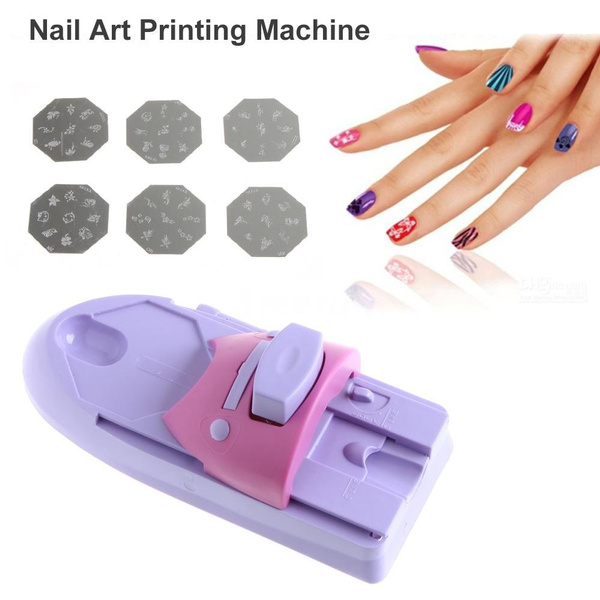 Wish | Beauty Nail Art Drawing Polish Stamper Printer Machine Nail ...