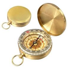 classicpocketwatchcompasscase, Brass, outdoorcampingaccessorie, camping