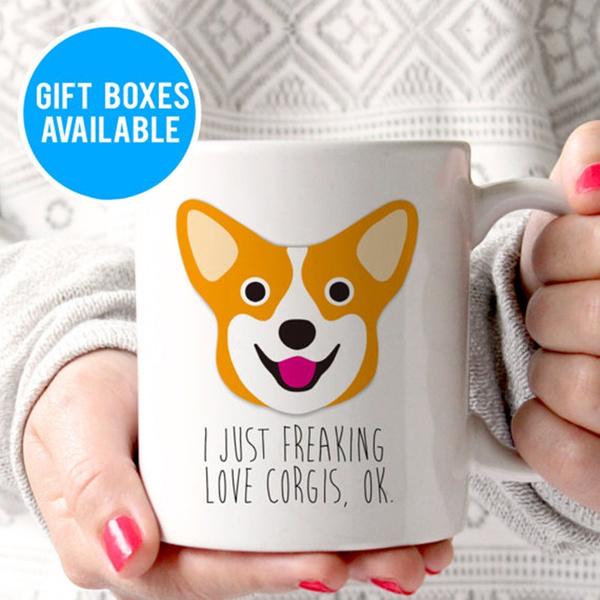 Funny Corgi Mug Dog lover Gift