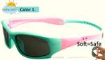 c90cce10902 IVSTA Kids Sunglasses Boys Silicone Strap Polarized Flexible TR90 Elastic Children  Sunglasses Girls Retainer Holder 8110