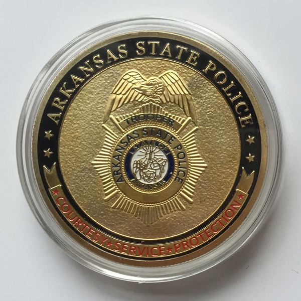 Arkansas State Police Challenge Coin LE1265S