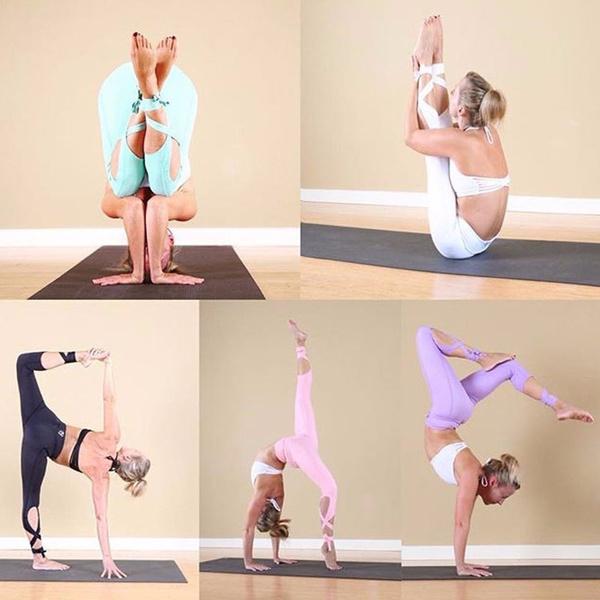 6da8ebf528434 Yoga pants Ballet Spirit Bandage Workout infinity Turnout Leggings ...