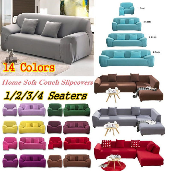 Cool 1 4 Seaters Fashion Recliner Sofa Covers Retro Recliner Sofa Cover Soft Couch Slipcovers Multicolor Bralicious Painted Fabric Chair Ideas Braliciousco