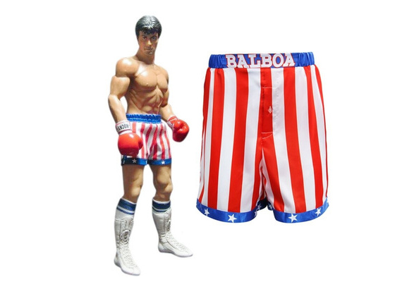 NEW MENS ROCKY BALBAO  BOXERS BOXER SHORTS PANTS BRIEFS TRUNKS SMALL