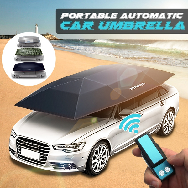 Automatic Car Protection Umbrella Car Roof Cover Tent Sun Shade