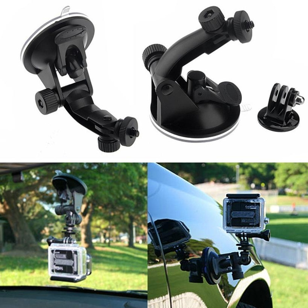 Tripod Adapter Suction Cup Camera Mount Holder for Car Wind Screen