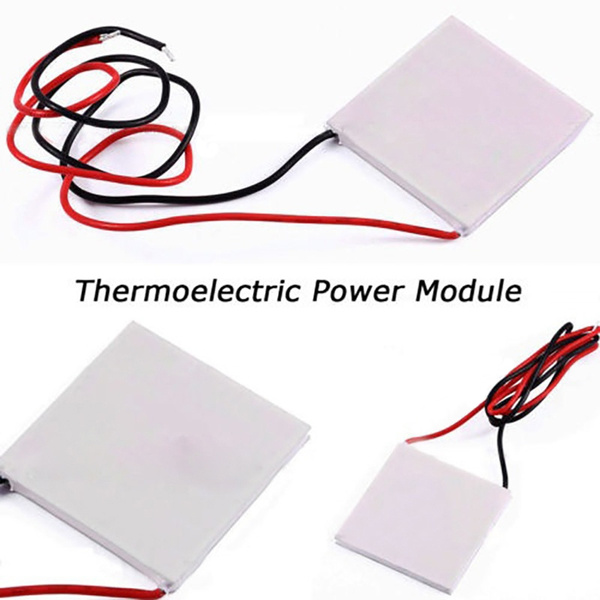 SP1848-27145 Thermoelectric Power Generator Peltier TEG,40mm x 40mm x 3.4mm
