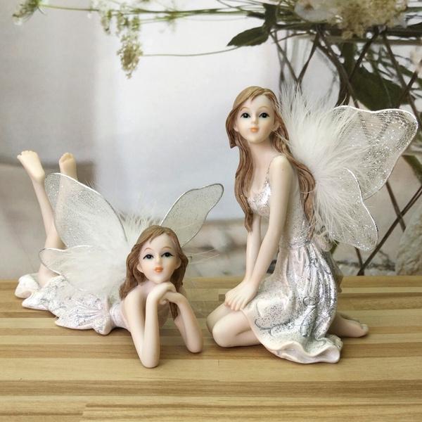 Decor, Garden, fairiesangel, flowerfairy