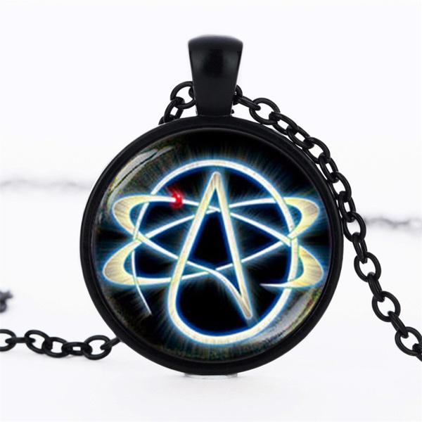 Atheist Symbol Pendant Pendant Design Ideas