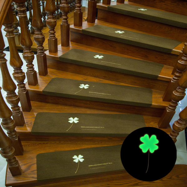 Stair Tread Non Slip Four Leaf Clover