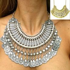 bohemia, bohojewelry, Jewelry, coinnecklace