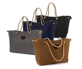Shoulder Bags, Plus Size, Canvas, Gifts