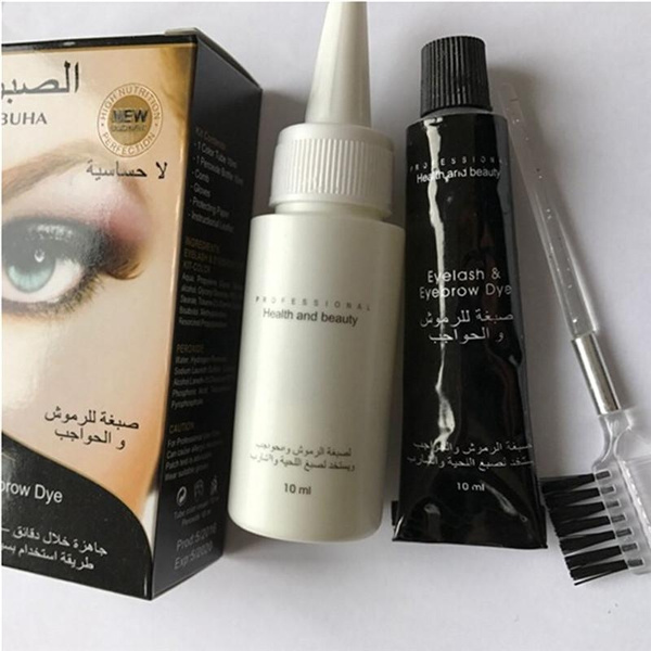 Wish Delia Henna Cream Eyebrow Eyelashes Professional Colour Tint