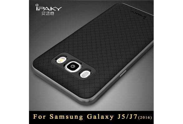 Wish | j5 j7 case Original ipaky Brand For samsung Galaxy j5 case Armor PC Frame + silicone back cover For samsung galaxy j7 cases 2016 2017