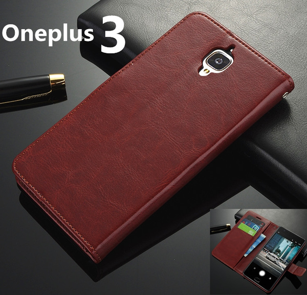 best sneakers 93d61 2c555 For Oneplus 3T One Plus 3T Case Luxury Flip Style PU Leather Wallet Coque  Phone Bag For Oneplus5 Oneplus Five Cover Cases with Card Holder