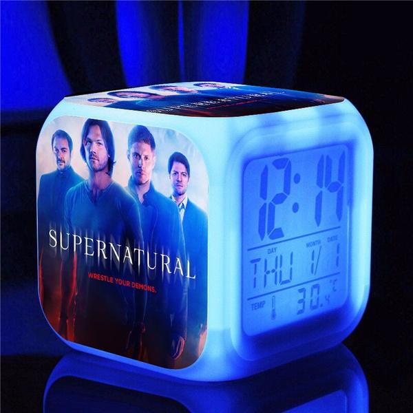 cute, ledlightalarmclock, Led Clock, TV