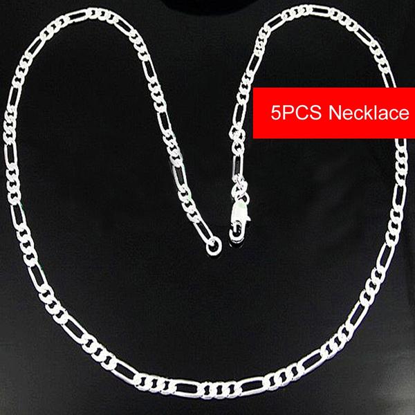 Sterling, Fashion Jewelry, figarochainnecklace, 925 sterling silver