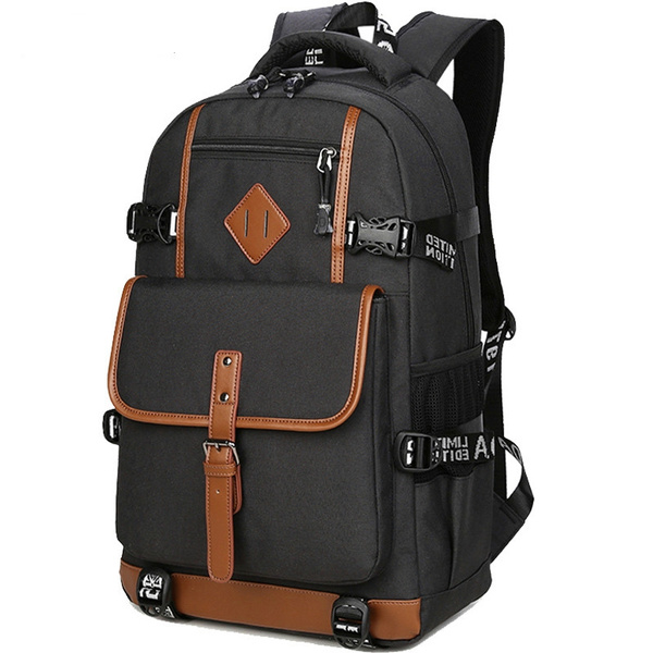 3d17bebba4c9 AOLIDA Style Oxford Backpack Men Casual Dayback Backpack School Bag for  Teenagers Computer Mochilas High Quality Daily Backpacks