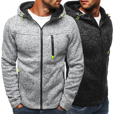 zipper hooded sweatshirt