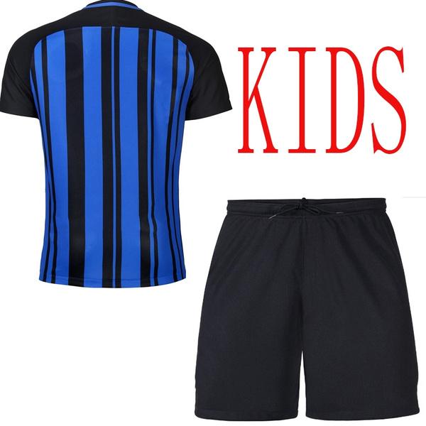 promo code 6e212 5985a INTER HOME JERSEY 2017/18 - KIDS Inter Milan 2017-18 season home jersey kids
