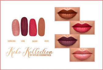 Lipstick, Beauty, 4pieceslipstick, Makeup