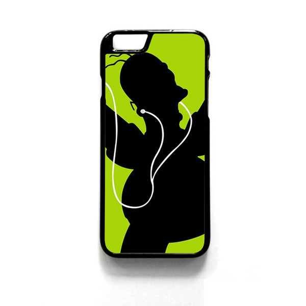 Strange Homer Simpson Black Green Headphones Graphic Phone Case For Iphone And Samsung Download Free Architecture Designs Scobabritishbridgeorg