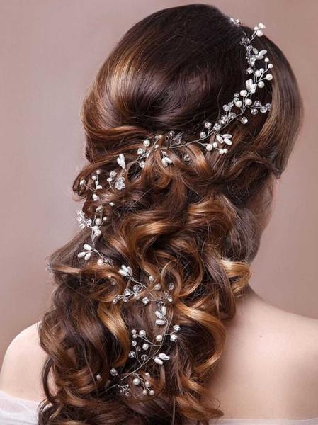 hair, weddingbrideheadband, Bridal wedding, pearlheadband