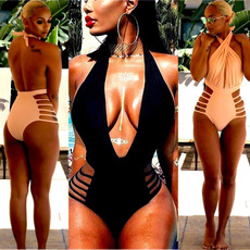 bathing suit, Fashion, women beachwear, Beach