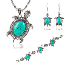Turtle, Turquoise, Jewelry, Vintage