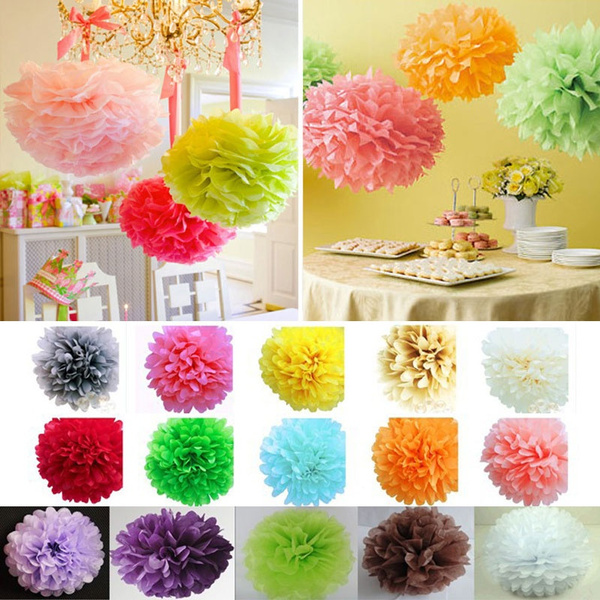party, pompomsflower, paperpapercraft, Wedding