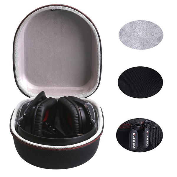 LTGEM Hard Case Travel Carrying Storage Bag fof Logitech Wireless Gaming  Headset G933 G930 G430 G230 G35 Mac PC Game Headphone/ Microphone(Only case)