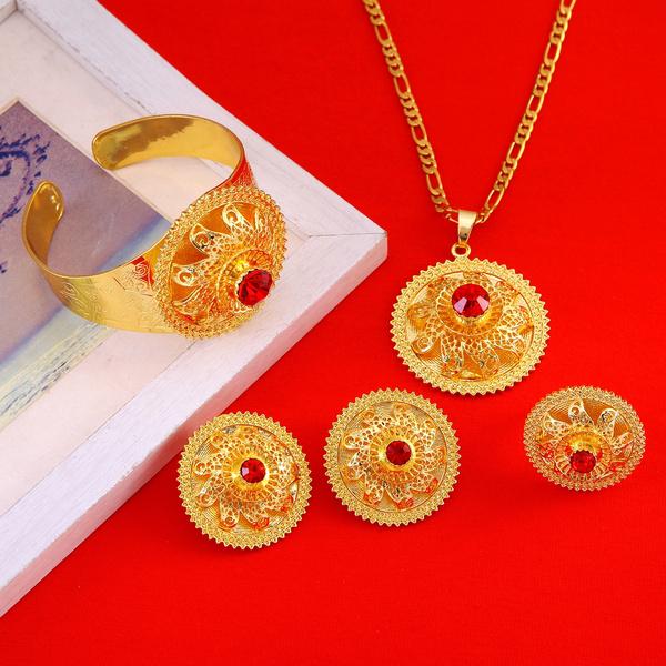 Ethiopian Jewelry Sets Pendant