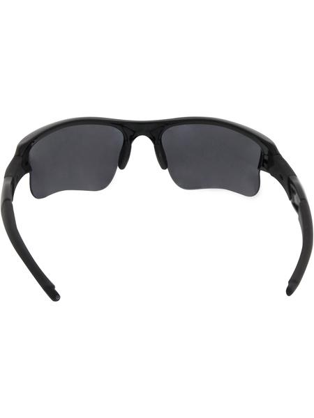 0b4d2019717f Wish | Oakley Men's Flak Jacket XLJ 03-915 Black Wrap Sunglasses