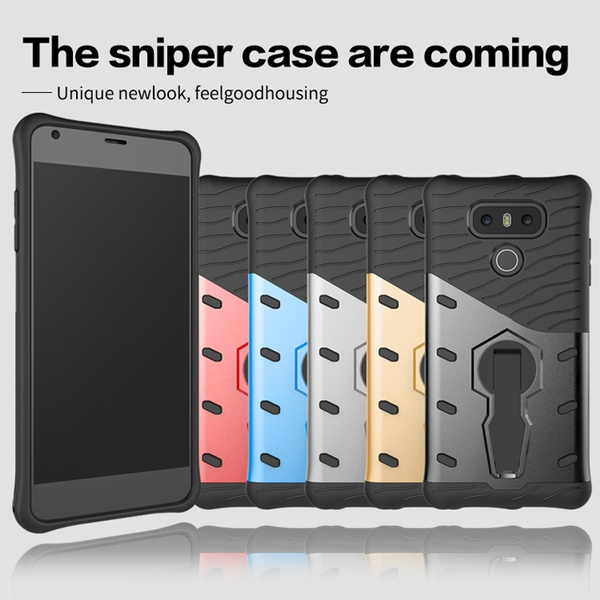 detailed look 52ea8 e5c0f 2017 Newest Hot Case for LG G6 Frosted Hybird Rugged Armor 2 In 1 Combo  Dual Layer Full Phone Case for LG6 G6 Case 5.7 Inch