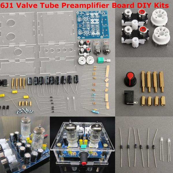 12V 6J1 Stereo Amplifier Valve Tube Preamp Preamplifier Board Bass on  Musical Fidelity X10-D DIY