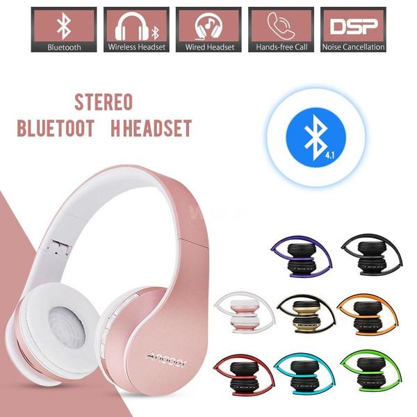 21d8aa471b8 Andoer Bluetooth Headphone Wireless Stereo Bluetooth 4.1 Headset 3.5 ...