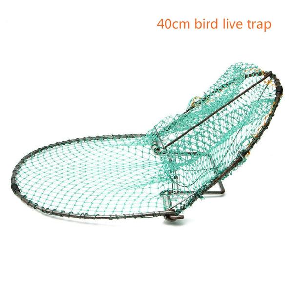 20cm Heavy Duty Sparrow Pigeon Starling Humane Vivi Trappola Caccia Bird Net