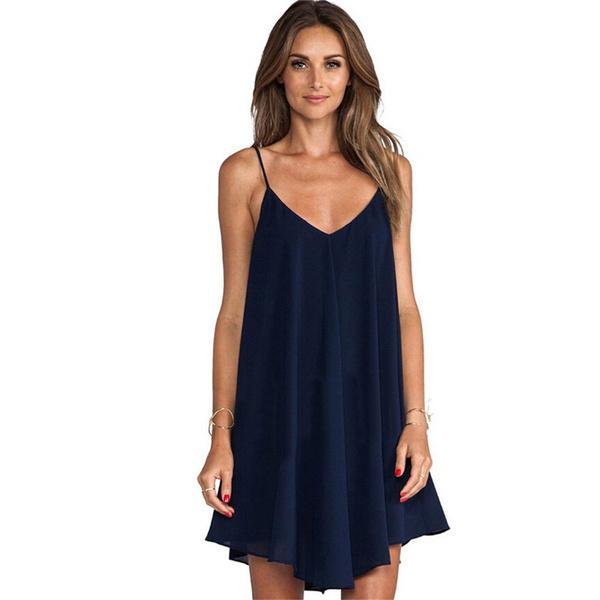 Wish Plus Size Chiffon Dress 2017 Summer Women S 6xl Sleeveless