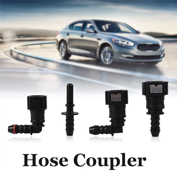 Motorcycle Hose Coupler Fuel Line Quick Release Connect Connector ID6 Moto  Accessories