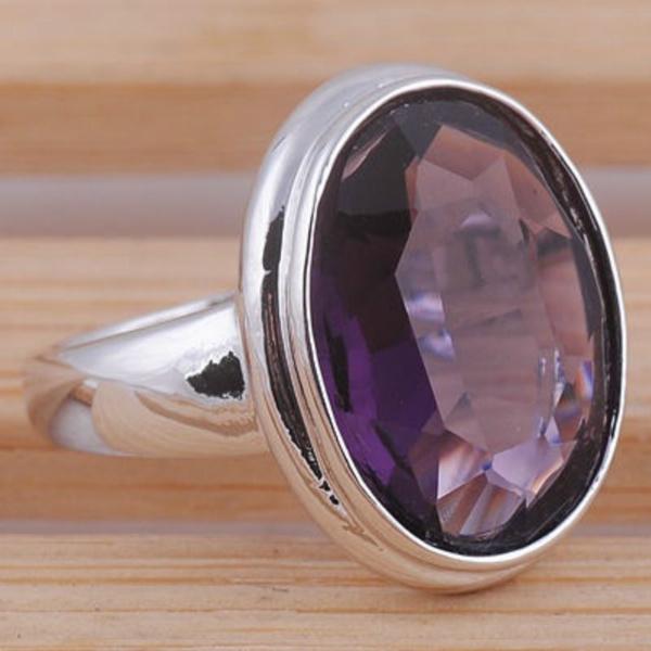 Sterling, Cut, tanzanitegemstone, 925 silver rings