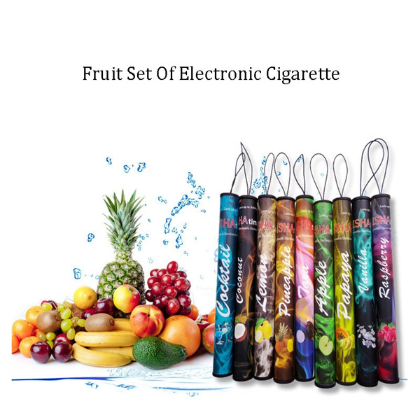 Fruit Flavors Fragrance Cherry Disposable Electronic Shisha Hookah Pen