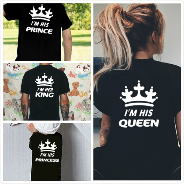 16ecb462c4 Family Kids Daughter Son Clothes Her King His Queen Prince Princess ...