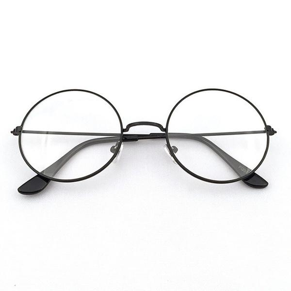 Wish | Vintage Round Glasses Men Glasses Frame Retro Luxury Eyewear ...