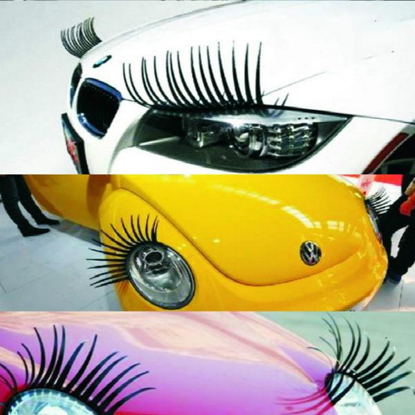 Wish 2pcs 3d Charming Black False Eyelashes Fake Eye Lash Sticker