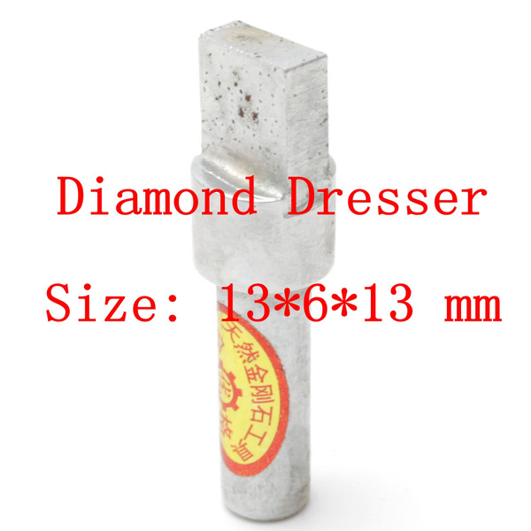 Head 13mm Square Diamond Grinding Disc Wheel Dressing Tool Bench Grinder New