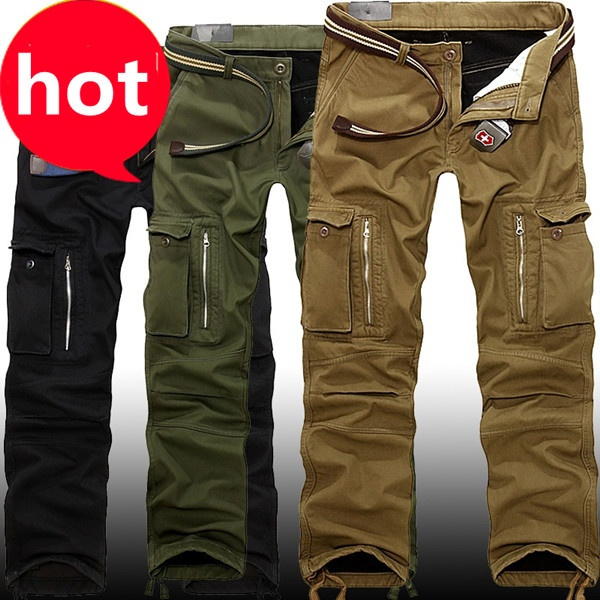 Plus Size, Casual pants, camouflage, Long pants