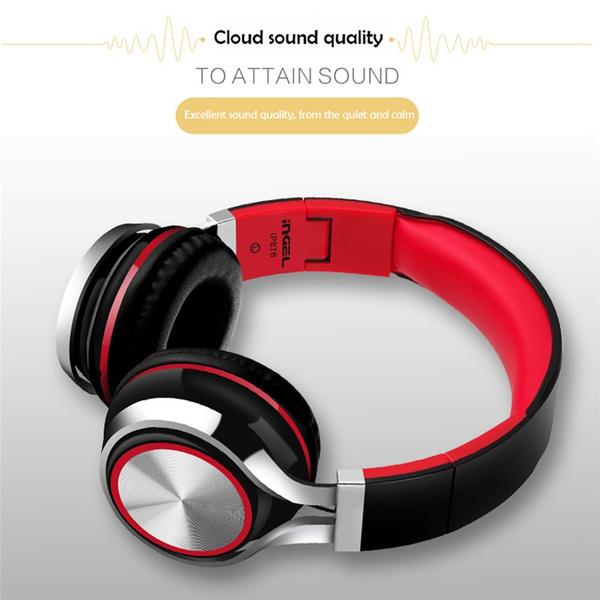 INGEL Headset,Computer Game Headset Ultra Deep Bass Music Headphones